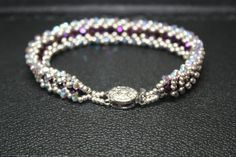 Beautiful Silver and crystal Bracelet