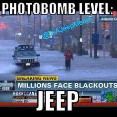 Jeepys: Jeep modified XJ humor photobomb Jeep Jokes, Jeep Humor, Jeep Cars, Jeep 4x4, 1999 Jeep Cherokee, Jeep Xj Mods, Truck Quotes, Jeep Camping, Mitsubishi Lancer Evolution