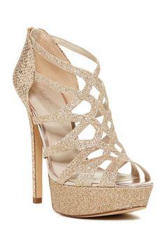 Marsicana Glitter Platform Sandal