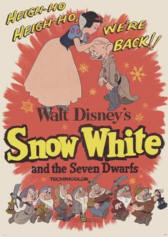 Blanche Neige et le 7 nains #Disney / Snow White and the Seven Dwarfs