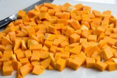 Roasted Butternut Squash is an essential, healthy fall side dish! It has a mildly sweet, slightly nutty, buttery flavor and a delicious creamy texture. Butternut Squash Casserole, Roasted Butternut Squash, Cooking Herbs, Easy Casserole Recipes, Thanksgiving Side Dishes, Easy Salads, Veggie Recipes, Holiday Recipes, Dinner Recipes