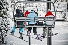 have fun Snow boarding