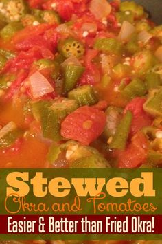 Tastes so much better than fried okra and is healthier too!  Ready in no time for those busy school nights!
