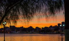 Sarande by Dominique Toussaint on Albania, Sunsets, River, Nature, Outdoor, Outdoors, Naturaleza, Rivers, Sunset