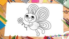 100 How To Draw Tutorials - Draw A Butterfly Quickly and Easily - Eyes, Hair, Face, Lips, People, Animals, Hands - Step by Step Drawing Tutorial for Beginners - Free Easy Lessons