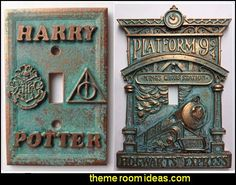 Hogwarts Light Switch Covers  Harry Potter Light Switch Covers