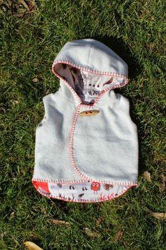 sewpony: A cosy vest - free pattern by little kiwi's closet