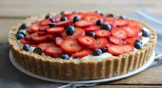 Can Spring be far behind with this No-Bake Berry Cheesecake Tart?
