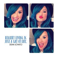 Has #DemiLovato inspired a healthy lifestyle for you? Let us know below! #SecretColor #ShareYourColor www.getsecretcolor.com