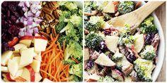 Waldorf Broccoli Apple & Cranberry Salad | Meatland