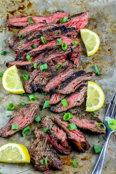 The best garlic grilled flank steak recipe ever for delicious juicy flank steak or skirt steak with a crunchy crust on the grill. Perfect easy recipe for grilled flank steak for steak salad, steak tacos, fajitas, and more!     Grilled flank steak  (or grilled skirt steak) is one of my all-time favorite things to...Read More