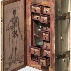 "Hollowed Out Book Discovered as 16th Century ""Assassin's Cabinet"""