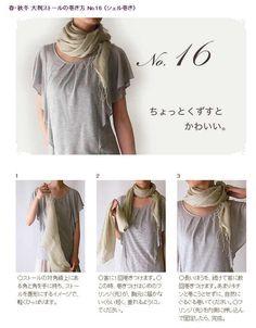 Tie a scarf #16/50