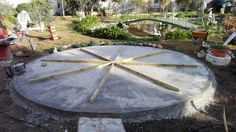 Kiosco Octogonal con tejado a 16 aguas de madera Base del Octogonal