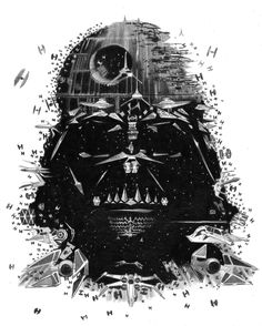 Star Wars: Darth Vader by Joe Taylor Star Wars Decor, Star Wars Fan Art, Star Wars Droids, Vader Star Wars, Star Wars Pictures, Star Wars Images, Anakin Vader, Cuadros Star Wars, Star Wars Painting