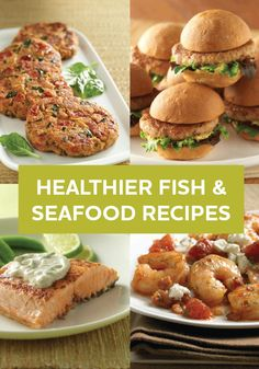 In the mood for seafood? Reel in some variety with these healthier fish and seafood recipes—perfect for dinner tonight.