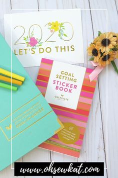 Keep your vision clear for 2020 with a beautiful goal planning system from Cultivate What Matters. A Clear Vision for PowerSheets Goal Planning System – Oh Sew Kat! Setting Goals, Goal Settings, Pdf Sewing Patterns, Sewing Tutorials, Goal Planning, Goals Planner, Positive Messages, Day Planners, Printable Planner
