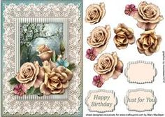 View Lacy Lovelies A5 - Champagne Roses Details