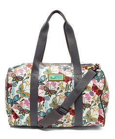 Look what I found on #zulily! Black Butterfly Paradise Weekender by Lily Bloom #zulilyfinds