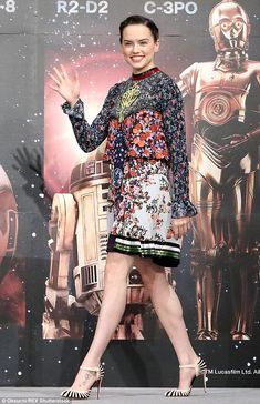 Daisy Ridley Star Wars: The Force Awakens photocall in Tokyo, Japan