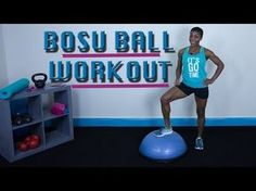 BOSU Ball Workout | Total Body | Cardio | Strength Training | Follow Along - YouTube