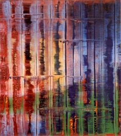 Gerhard Richter, Abstract Painting, 1992. Catalogue Raisonné: 774-4. Tomado de http://www.gerhard-richter.com/art/paintings/abstracts/detail.php?paintid=7964#