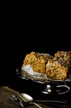 Recipe for a simplified cappuccino crumb cake, heavy on the crumbs, light on the cinnamon.