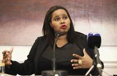Lindiwe Mazibuko. At 32, she became the youngest black woman leader in the Democratic Alliance and the fourth youngest Parliamentarian in South Africa. She is the Parliamentary Leader for South Africa's opposition Democratic Alliance.