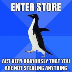 Hahaha. Socially Awkward Penguin is my new best friend
