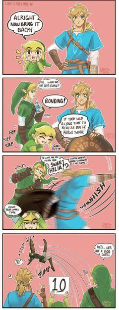 A Link's best friend (by lightsintheskye)