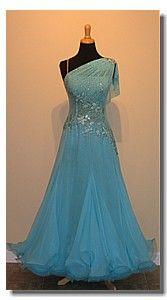 Pretty standard dance dress #ballroom