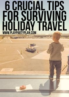 Crucial tips for holiday travel that all people should read before they head out for Christmas or Thanksgiving, especially if you're traveling with kids! I love all the ideas but #3 is my favorite! #GoReady #StaySmart @HolidayInnExpress #ad
