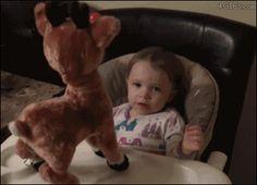 4gifs:  …Rudolph…nooo! [video]