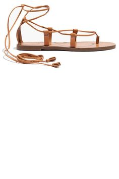 Madewell Womens Boardwalk Lace-Up Sandal Camel Sandals, Lace Up Gladiator Sandals, Lace Up Sandals, Flat Sandals, Shoes Sandals, Flat Shoes, Madewell Sandals, Me Too Shoes, Fashion Shoes