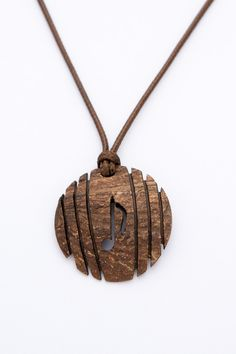 "ON SALE Music note pendant ""Funk"" from Coconut Shell unisex pendant art pendant natural ethno music pendant gift pendant music jewelry hand - $12.50 USD"