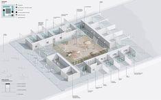 El concurso proponía la creación de una nueva guardería para niños en la ciudad de Ámsterdam, cuyo punto de partida sean patios de juego en relación con el espacio colectivo.