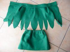 Trilli costume, very easy! Costume da fatina del bosco facile, facile!