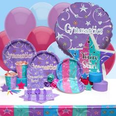 good ideas for cheer party Cheer Birthday Party, Cheer Party, 6th Birthday Parties, Birthday Party Decorations, Birthday Ideas, Cheerleader Party, Cheers Theme, Kids Party Themes, Party Ideas