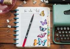 to do list butterfly1