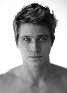 not sure who this is, but i do know that i'm in love with his face.
