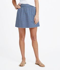Sailing Stripe Skirt