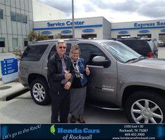 https://flic.kr/p/xRsPmv | #HappyBirthday Bill & Janice from Everyone at Honda Cars of Rockwall! | www.deliverymaxx.com/DealerReviews.aspx?DealerCode=VSDF