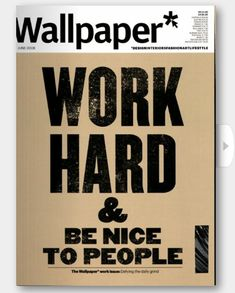 Great advice from *Wallpaper!!