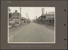 - Great Western Road - Penrith - Prior to reconstruction. Blue Mountains Australia, Penrith, Great Western, South Wales, Genealogy, Westerns, Sydney, Art Ideas, Nostalgia