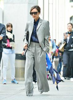 Minimal Fashion, Timeless Fashion, Style Fashion, Mode Victoria Beckham, Executive Woman, Lawyer Fashion, Pantalon Large, Suits For Women, My Style