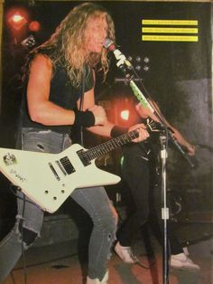 Metallica, James Hetfield, Full Page Pinup