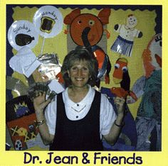 Dr. Jean YouTube Videos of finger plays, songs, etc.