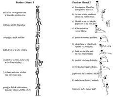 Jednodušší pozdrav slunci | Jak hubnout zdravě Fitness Tips, Health Fitness, Pe Lessons, Gross Motor Activities, Yoga For Kids, Kindergarten, Exercise, Workout, Education