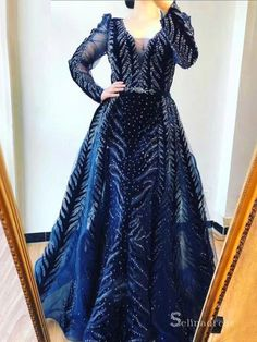 Long Sleeve Evening Gowns, Prom Dresses Long With Sleeves, Backless Prom Dresses, Dress Long, Plus Size Gowns Formal, Formal Gowns, Sweet 15 Dresses, Formal Dresses For Weddings, Tulle Dress