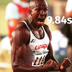 #DonovanBailey #100m #100mtime #Olympic gold winner 1996 #worldrecord #Canada #sprinter #genuinepace #fitspiration